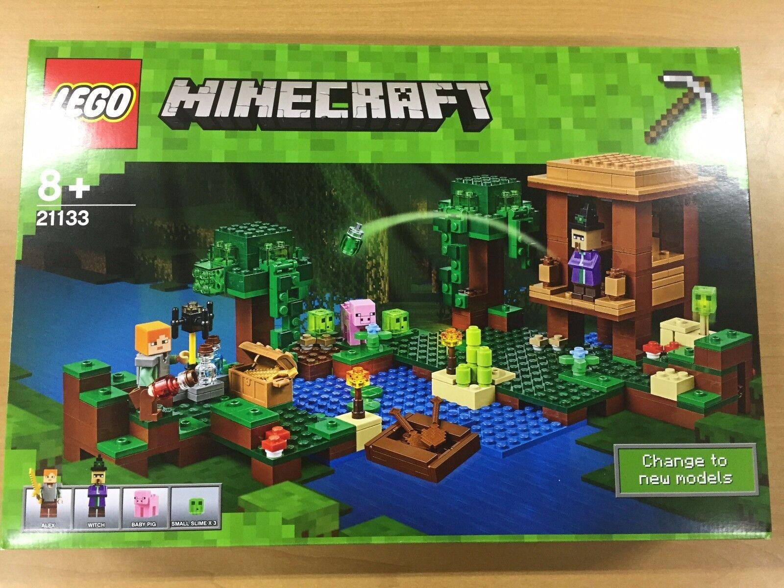 Lego Mine Craft Cabaña De Bruja 21133