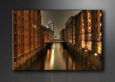 Visario Bild auf Leinwand Markenware Hamburg 120x80cm XXL 5051>