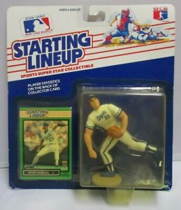 1989  MARK GUBICZA - Starting Lineup (SLU) Baseball Figure & Card - KC ROYALS