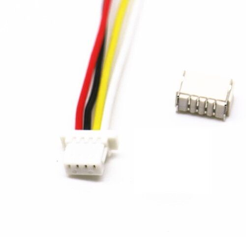 10 sets Micro JST SH 1.0mm 4-Pin Female Connector with Wire and Male Connector