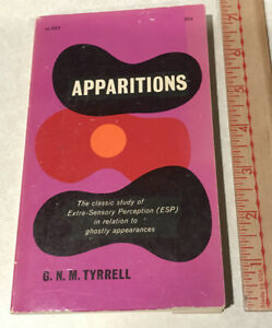 Apparitions-by-G-N-M-Tyrrell-1963-ESP-Extra-Sensory-Perception-GHOSTS-Paperback