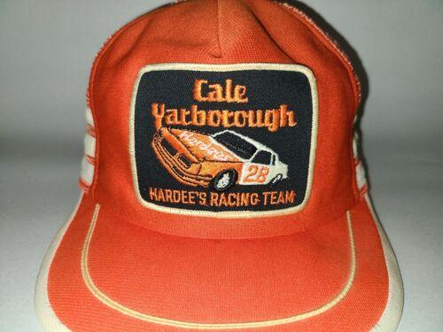 Vintage Snapback Trucker Hat Patch Cale Yarborough