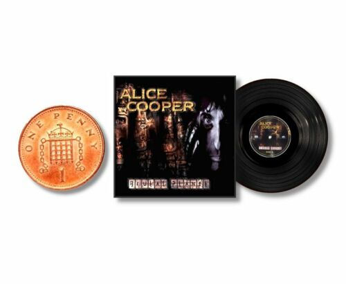 LP RECORD ALBUMS MINIATURE 1//12th Non Playable Lot.1 VARIOUS ALICE COOPER