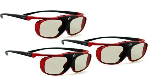 """sony /& sharp tv /'s 3d lunettes Hi-shock ® BT pro /""""scarlet Heaven/""""pour samsung"""