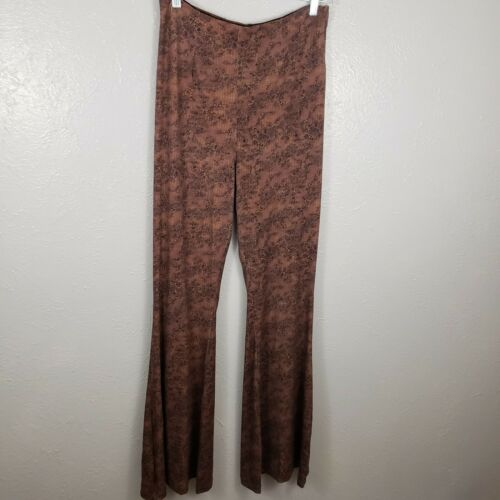 Free People Harper Moody Pomegrante Highrise Flare