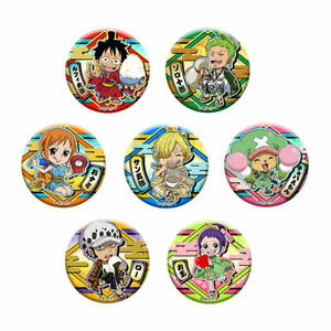 Brujula-One-Piece-Wano-Shoku-Clip-Latta-Distintivo-7Pack-Scatola