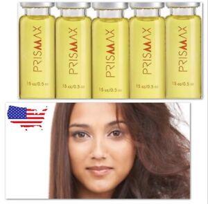 3 X 15cc Ampoules Prismax Hair BOTX Shock Shampoo Keratin Treatment 4 Oz