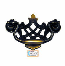 80mm Ancien En Bronze Poignée De Tiroir Placard Cuisine Porte Garde-robe 258374