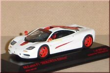 McLaren F1 roadcar - weiß / rot - white / red - Minichamps - 1:43 - LE