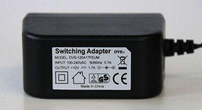 Dve Ac Adapter Netzteil Netzstecker 12v 1.7a 1700ma Dvs-120a17feum Universal
