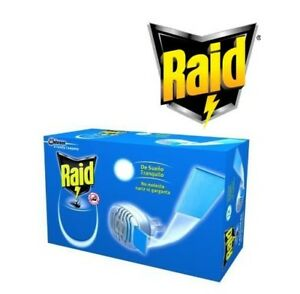 RAID MOSQUITO REPELLENT EUROPEAN STANDARD PLUG IN AND TABLETS 10 mats