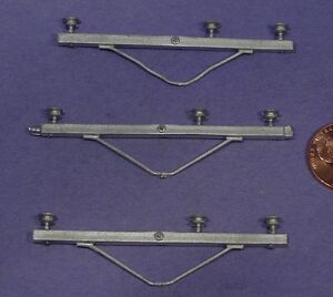Details about O SCALE WISEMAN DETAIL PARTS O276 POWER POLE HIGH VOLTAGE 3  WIRE LONG CROSS ARMS