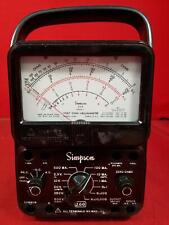 Simpson 260 Series 7 Vom Multimeter Sn At6531