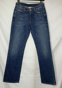 Lucky-Brand-Dungaree-Womens-Jeans-Size-4-27-Rider-Fit-Relaxed-Long-Length