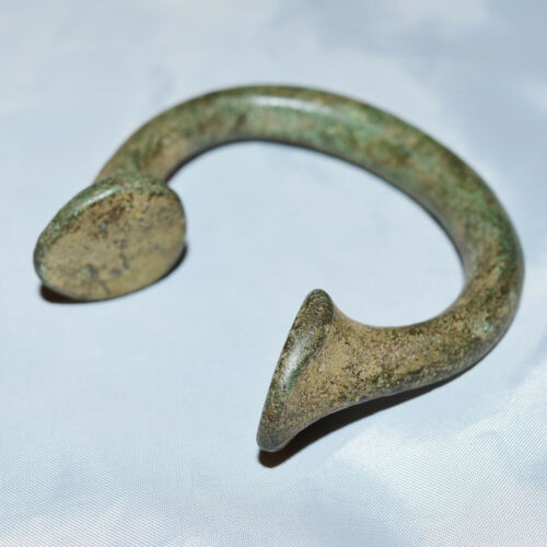 1800/'s West African Manilla Currency Slave Bracelets Brass Copper Iron 1600/'s