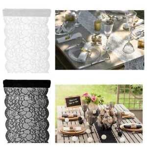 3 00 M Spitze Tisch Laufer Deko Stoff Vintage Hochzeit Fest Tafel
