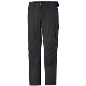 Hommes helly hansen workwear san diego zip off pants noir/anthracite pantalon 76453