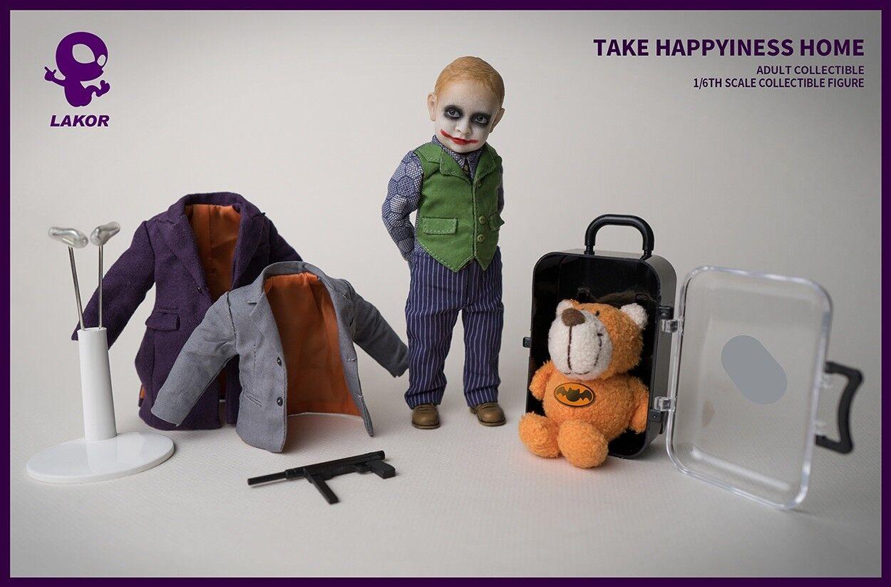 Lakor Baby1 6 Scale JOKER Baby 2.0 Collectible Figure Toys 15CM High Kids Gift