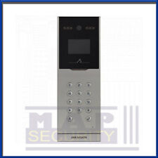 Hikvision DS-KD8002-VM Video Intercom Door Entry Panel Brushed Aluminium !