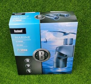Bushnell Marine Porro Prism Binoculars, 7x50mm, Waterproof, Blue - 137501