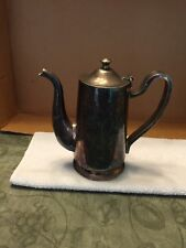 D. W. Haber And Son NY Silver Plated Pitcher With Attached Lid