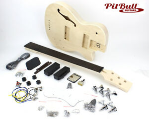 Pit-Bull-Guitars-HBB-5-Semi-Hollow-Electric-Bass-Guitar-Kit
