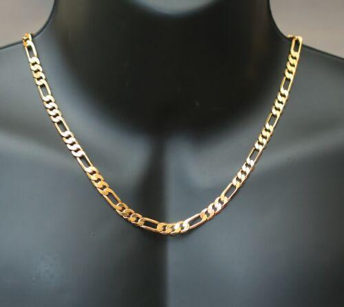 Chaine neuve dorée pour homme chaine en maille gourmette de 50cm de long 6mm