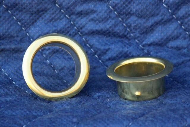 Two (2) Brass Candle Cup Protector - Good for Taper Candles 29/32