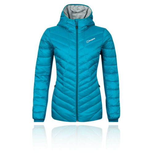 Berghaus Womens Tephra Stretch Reflect Down Jacket Top Blue Sports Outdoors