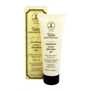 Health & Beauty Shaving & Hair Removal Taylor Of Old Bond Street Luxury Sandalwood Aftershave Gel 75ml