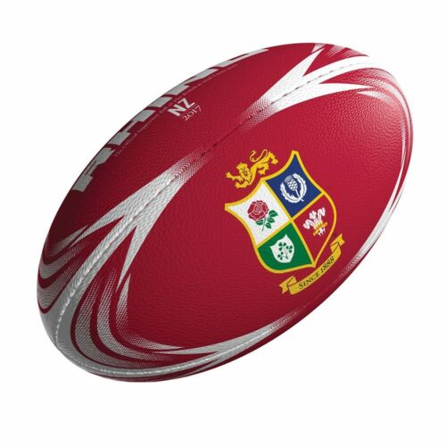 RHINO british lions supporter mini rugby ball [red]
