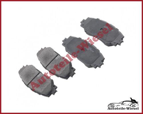 SRL Bremsbeläge Vorne für TOYOTA AURIS E15 URBAN CRUISER NSP1 VERSO AUR2