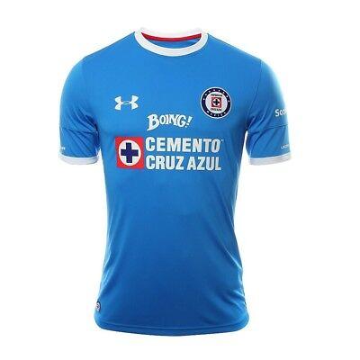 Official Under Armour Cruz Azul 16//17 Home Jersey 1275133-474 Men/'s Size XL $80