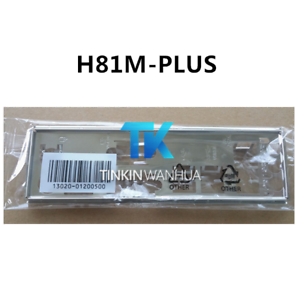 I//O SHIELD back plate BLENDE BRACKET for ASUS A88XM-PLUS H81M-PLUS A55BM-PLUS