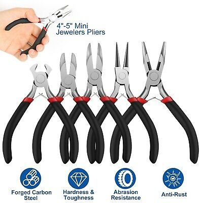 1pcs Jewelers Pliers set Jewelry Making Beading Wire Wrapping Tools New