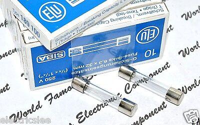 2pcs For Audio SIBA  T 4A  250V 5x20mm Glass Fuse ELU