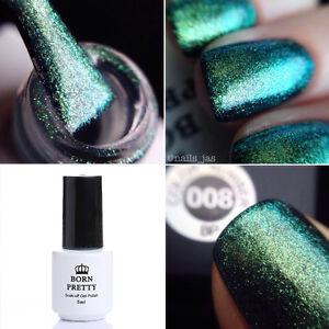 Image Is Loading 5ml Born Pretty Chameleon Green Chrome Uv Gel