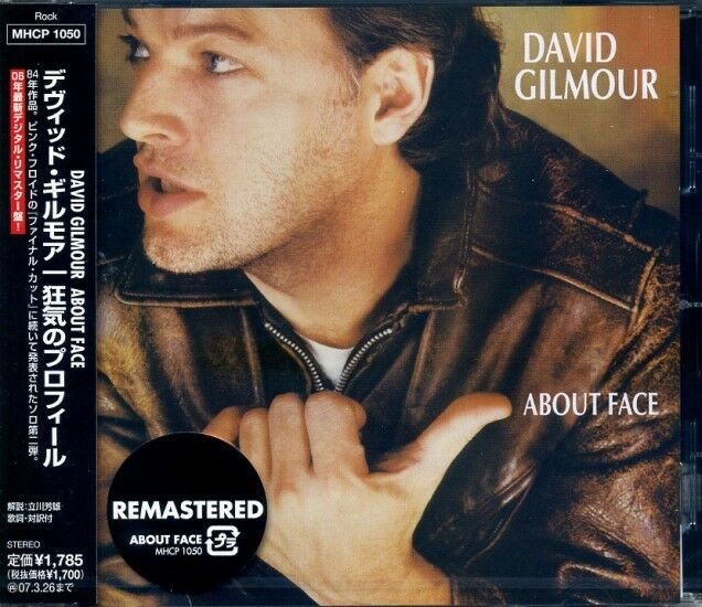 DAVID GILMOUR About Face (1984) Japan CD OBI MHCP-1050 SS new PINK FLOYD