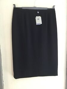 Austin Reed Below Knee Pencil Classic Skirt Crease Resistant Black Size 14 Bnwt Ebay