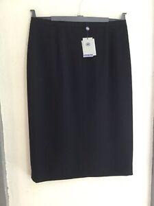 Austin Reed Below Knee Pencil Classic Skirt Crease Resistant Black Size 14 Bnwt Ebay