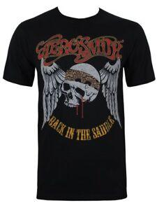 Aerosmith T-shirt Back In The Saddle Size S Official Merchandise Haute Qualité Et Bas Frais GéNéRaux
