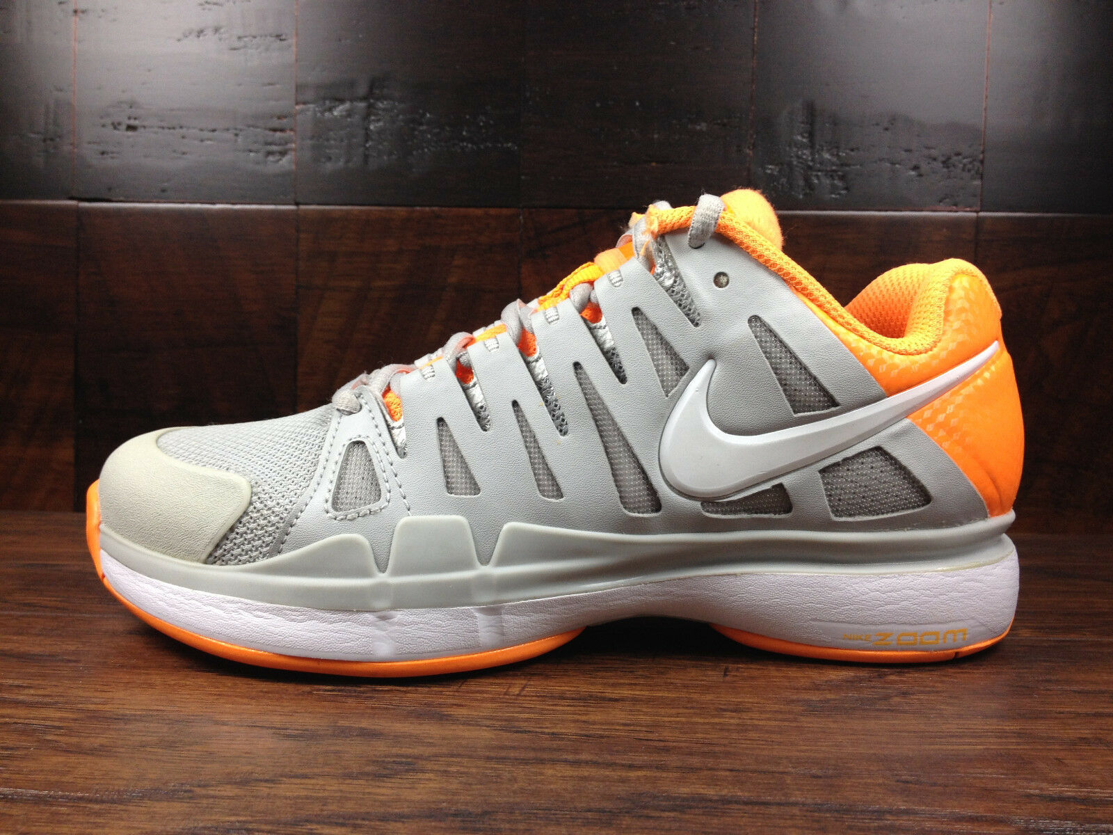 Nike Zoom Vapor 9 Tour Sharapova (Grey Womens / Citrus) Tennis [543222-018] Womens (Grey 3ee808
