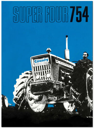County Super Four 754 Tractor Sales Brochure 1969