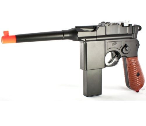 Toy Gun Airsoft Spring Pistol Broomhandle Double Eagle M32 WWII WWI NEW