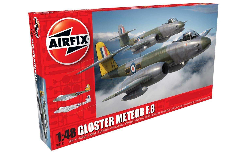 Airfix 1 48 Kit de Modelismo Gloster Meteor F8-A09182
