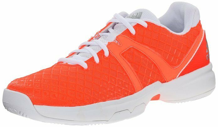 Adidas Performance Women's Sonic Allegra Training Footwear, Solar Red/Silver/Wht