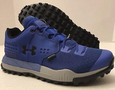 separation shoes dfbeb 6f302 UNDER ARMOUR UA Newell Ridge Low GTX GORE-TEX 1287341-400 Blue (MEN'S 8) NO  BOX | eBay