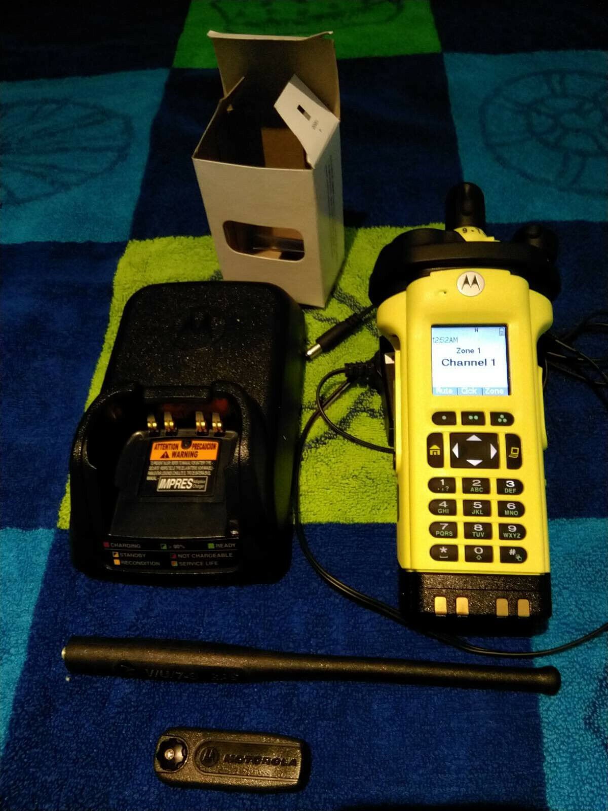 Motorola APX8000XE VHF UHF 7/800 ADP AES DES FPP (YELLOW) Tuned and Checked. Available Now for 5000.00