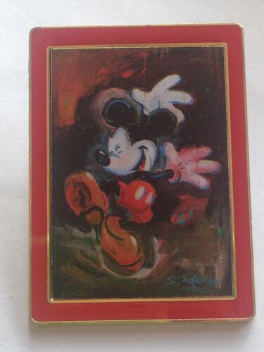 Disney Travel Company UK Eric Robison Mickey Impressionist Dancing in Rain Pin