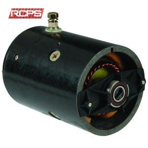 42-4320 12V CCW Bolts at 3 /& 9 New Pump Motor Tommy Lift  42 Monarch